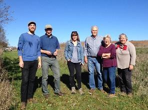 Bob and Nan Rudd discuss their conservation endowment