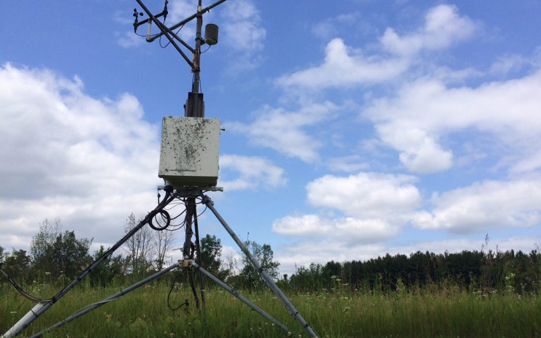 Traveling through time with the UWM weather station
