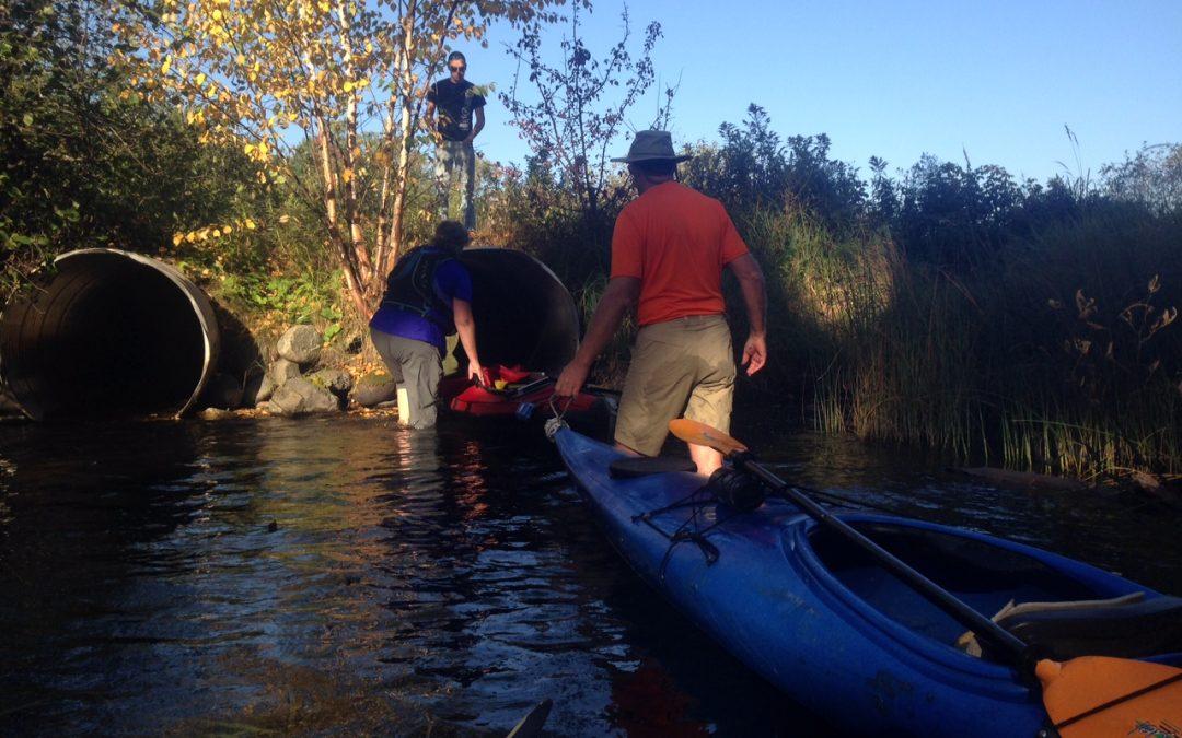 Day I: Beaver dams and heavy boats (Sunday, Sept. 27)