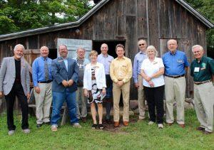 NRF Board Members at Aldo Leopold Nature Center