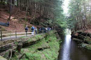 Hike the Wisconsin Dells with the Natural Resources Foundation. Photo by Michelle Milford