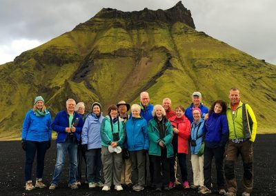 2016 trip to Iceland with the Natural Resources Foundation of Wisconsin. Photo by Cait Williamson
