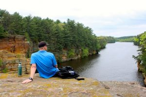Dells of the Wisconsin River SNA. Photo by Michelle Milford