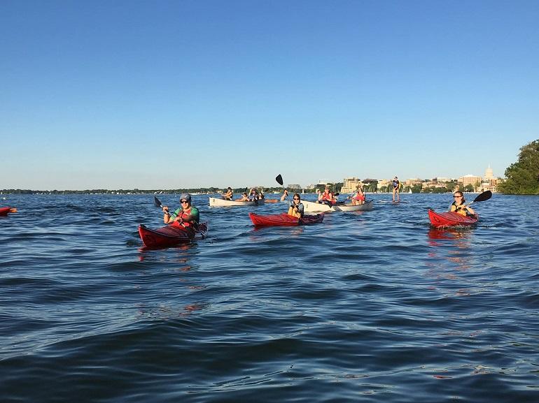 Glow Float Wayfarers. Photo by Michelle Milford
