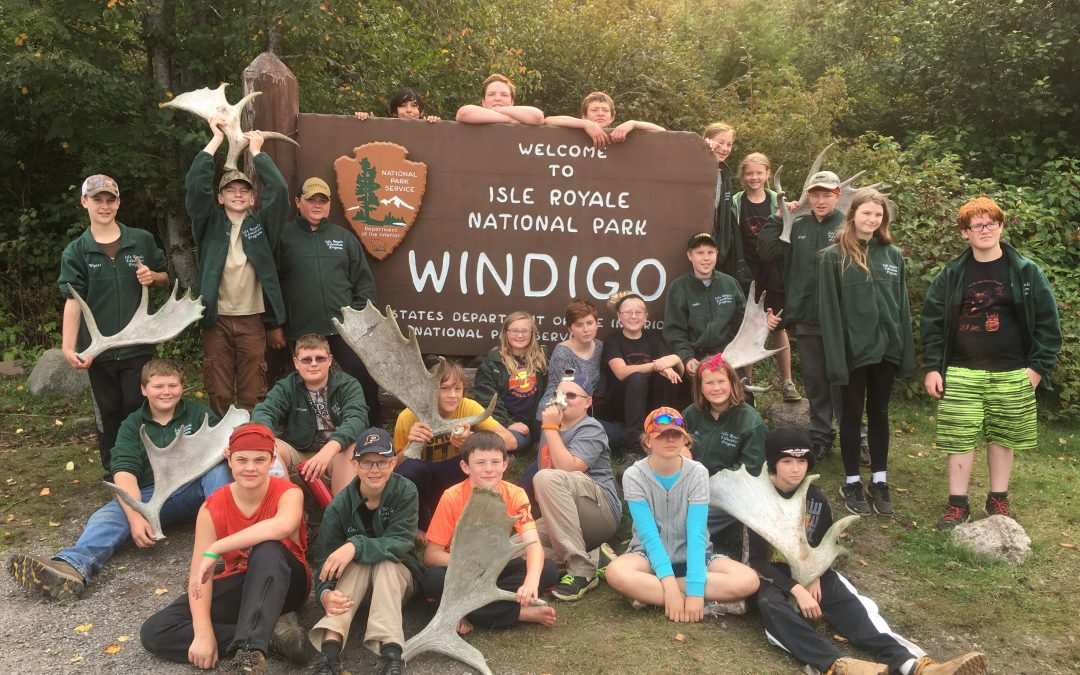 Students experience nature untouched by humans at Isle Royale