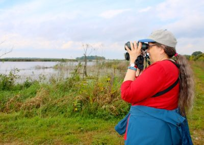 Birding at Horicon Marsh by Michelle Milford