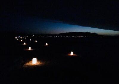 Blue Mounds Candlelight Ski, Hike, and Snowshoe