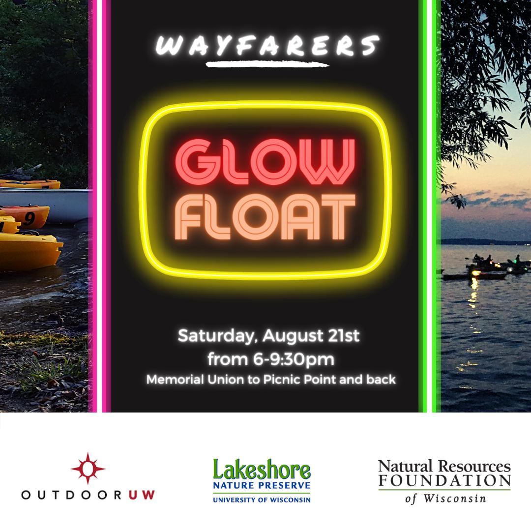 Wayfarers Glow Float flyer